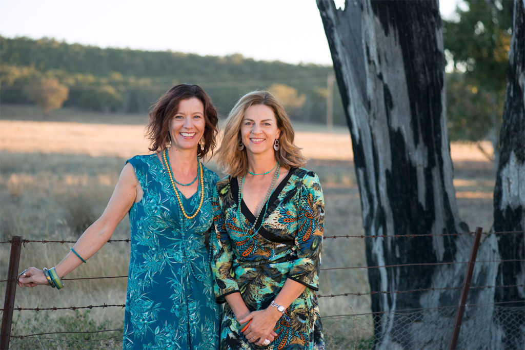 Co-founders of Beyond Business Groups, Nichole Maybury and Vickie Burkinshaw