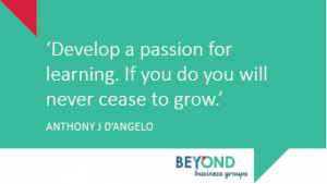 passion for learning in small business